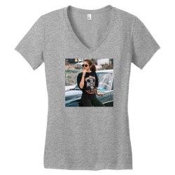 Cool selena print tshirt Women's V-Neck T-Shirt | Artistshot