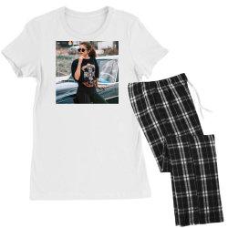 Cool selena print tshirt Women's Pajamas Set | Artistshot