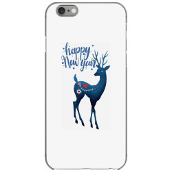 white christmas reindeer for new year iPhone 6/6s Case | Artistshot