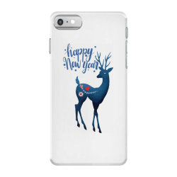 white christmas reindeer for new year iPhone 7 Case | Artistshot