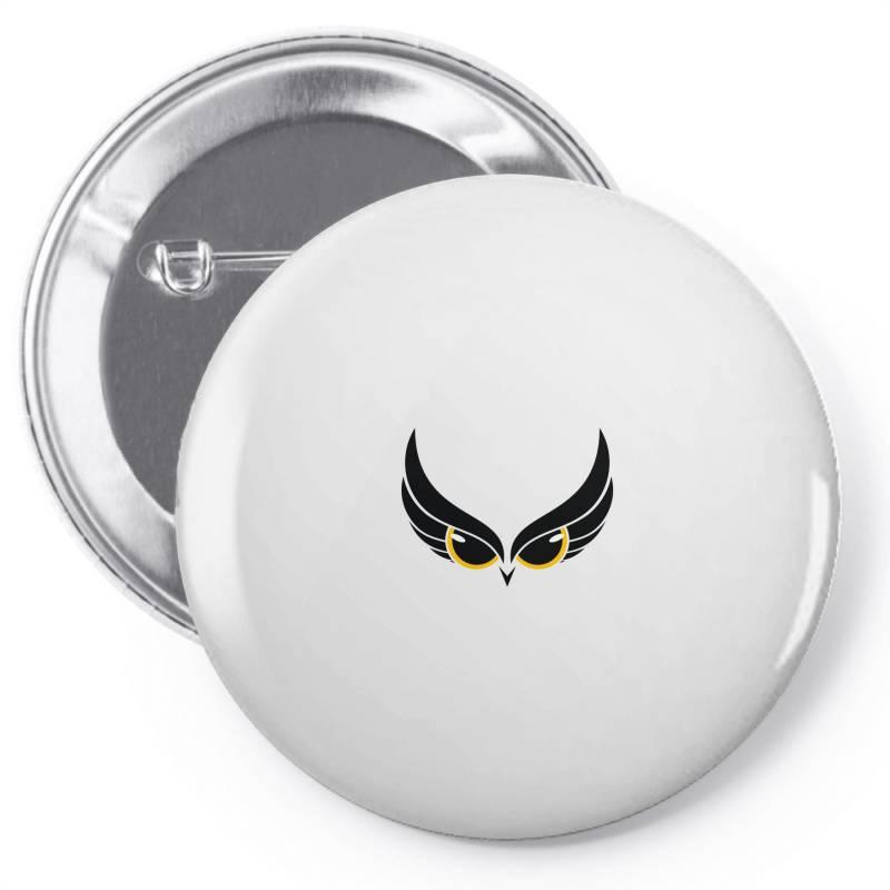 Owl Eye Pin-back Button | Artistshot
