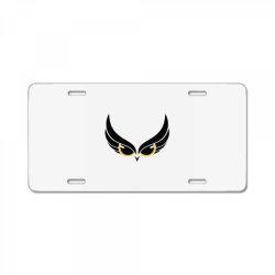 Owl eye License Plate | Artistshot