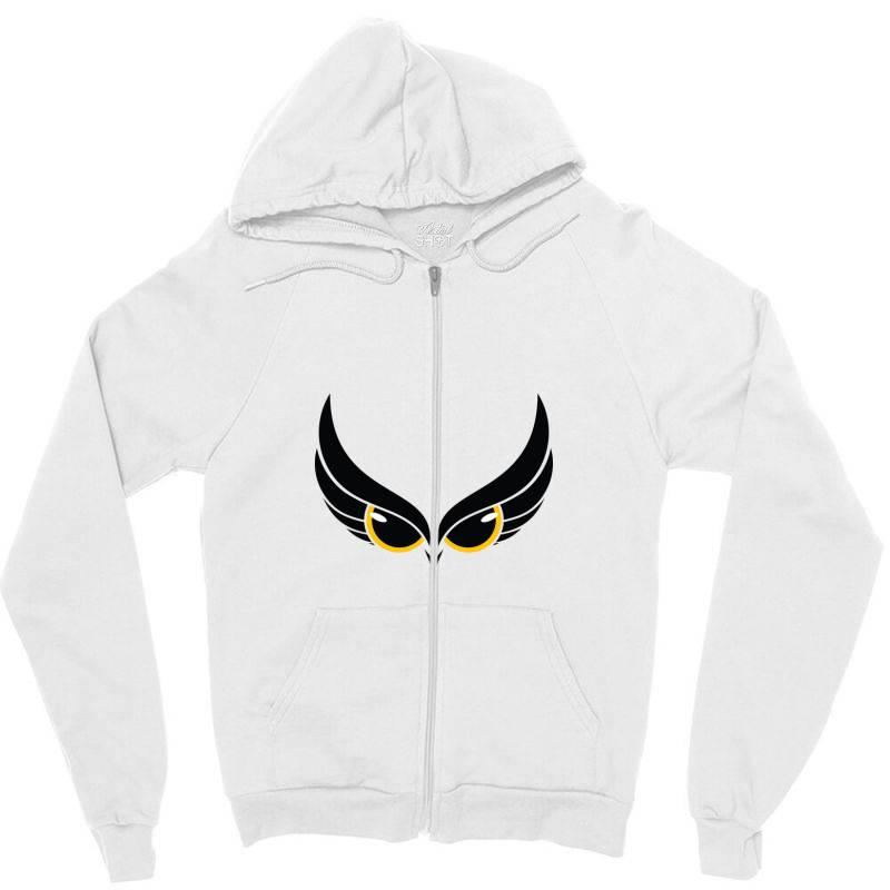 Owl Eye Zipper Hoodie   Artistshot