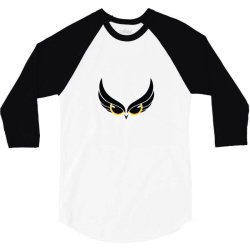 Owl eye 3/4 Sleeve Shirt | Artistshot