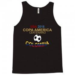 Copa America Centenario 2016 COLOMBIA Tank Top   Artistshot