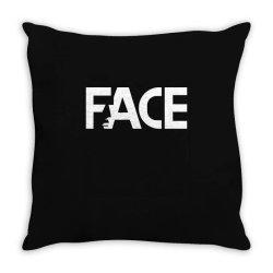 face Throw Pillow | Artistshot