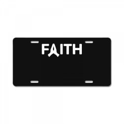 faith License Plate | Artistshot