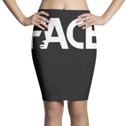 face Pencil Skirts | Artistshot