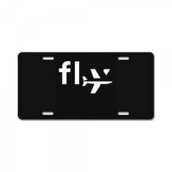 fly License Plate | Artistshot