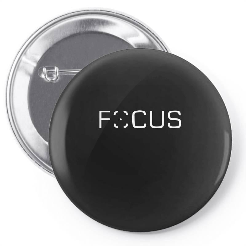 Focus Pin-back Button | Artistshot