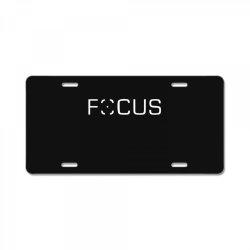 focus License Plate | Artistshot