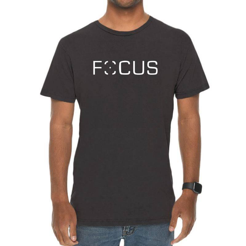 Focus Vintage T-shirt | Artistshot