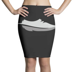 feather shoes Pencil Skirts | Artistshot