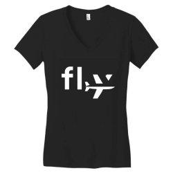 fly Women's V-Neck T-Shirt | Artistshot