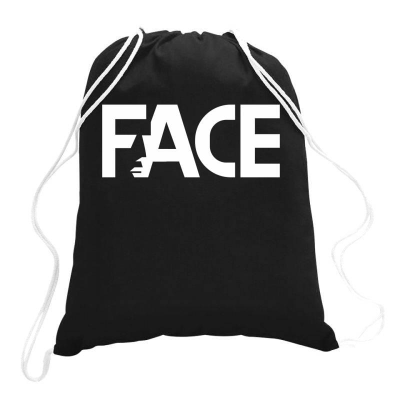 Face Drawstring Bags | Artistshot