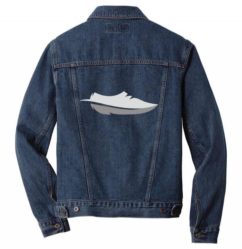 Feather Shoes Men Denim Jacket | Artistshot
