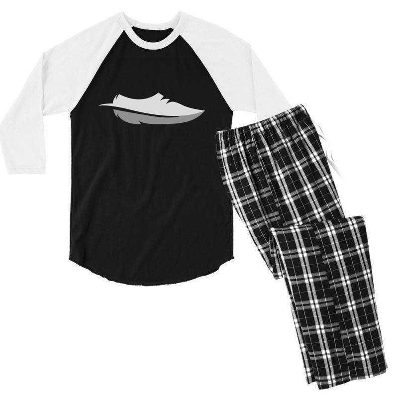 Feather Shoes Men's 3/4 Sleeve Pajama Set | Artistshot