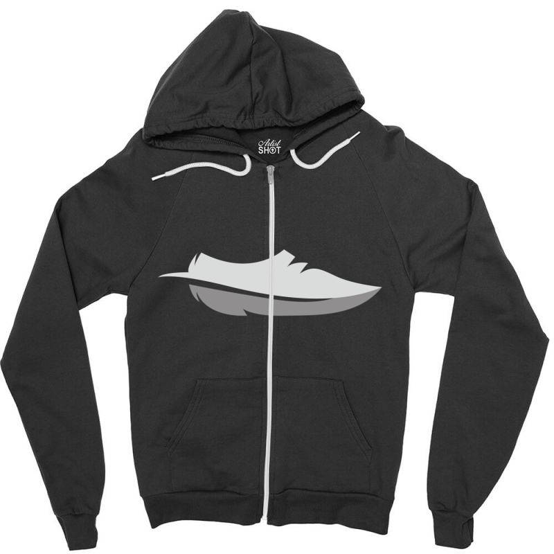 Feather Shoes Zipper Hoodie | Artistshot