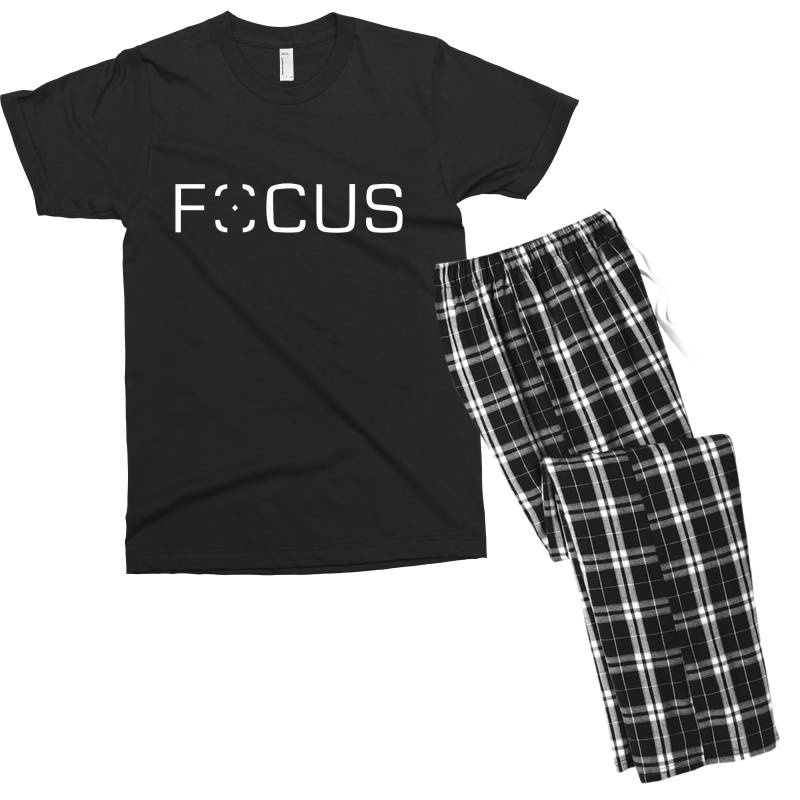 Focus Men's T-shirt Pajama Set | Artistshot