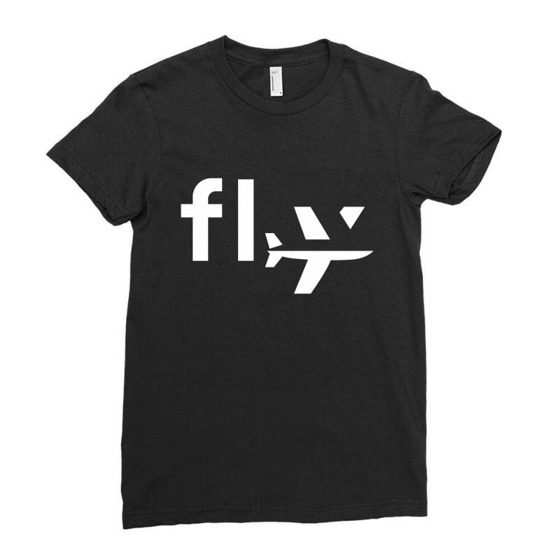 Fly Ladies Fitted T-shirt | Artistshot
