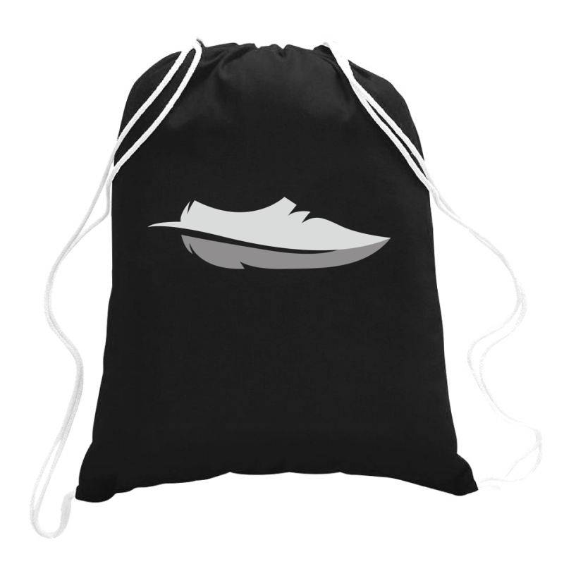 Feather Shoes Drawstring Bags | Artistshot
