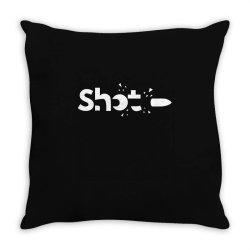 shot Throw Pillow | Artistshot