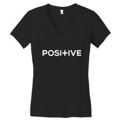 positive Women's V-Neck T-Shirt | Artistshot