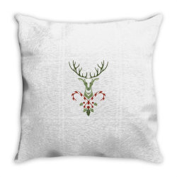 plant flower tree for christmas Throw Pillow | Artistshot