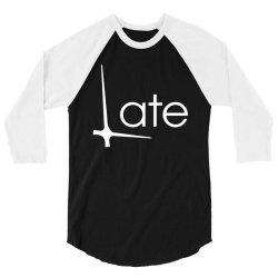 late 3/4 Sleeve Shirt   Artistshot