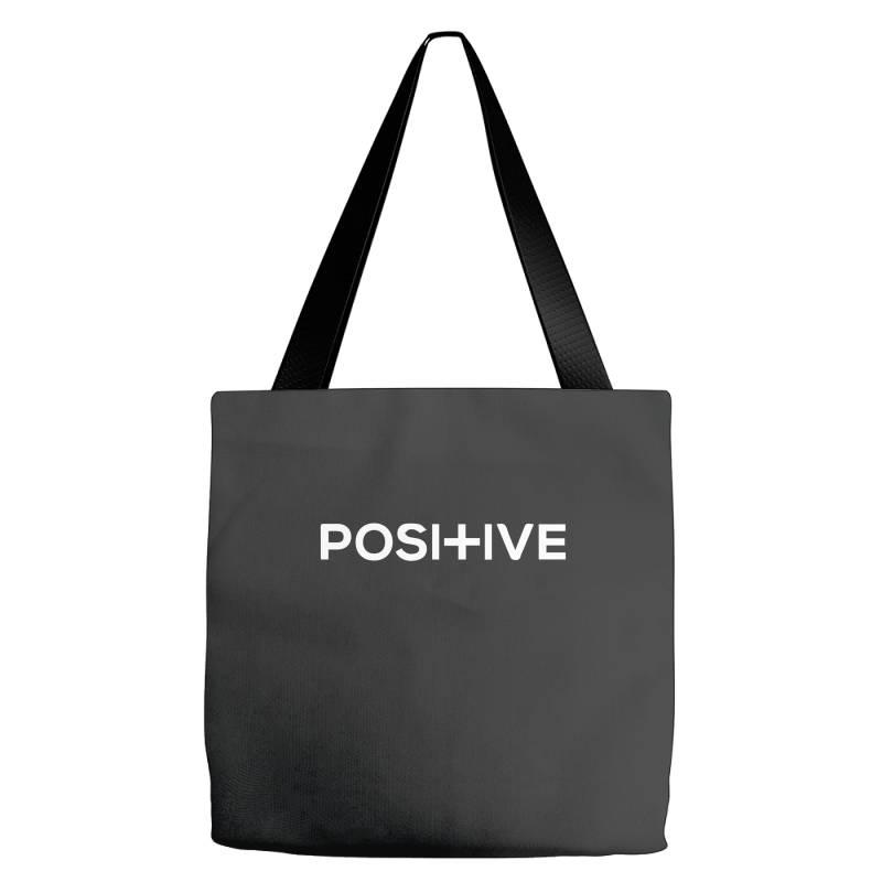 Positive Tote Bags | Artistshot