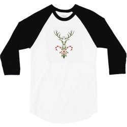plant flower tree for christmas 3/4 Sleeve Shirt | Artistshot