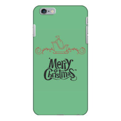 Merry Christmas With Santa's Sledge iPhone 6 Plus/6s Plus Case | Artistshot