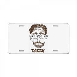 Daddy, Dad, Father License Plate | Artistshot