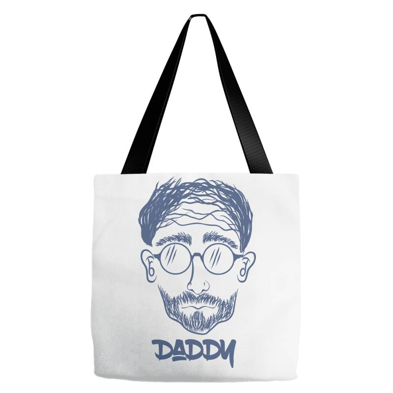 Daddy, Dad, Father Tote Bags | Artistshot