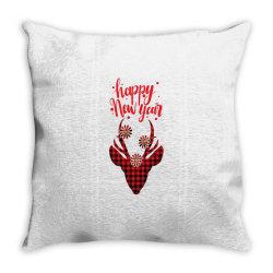 plaid design for new year Throw Pillow | Artistshot
