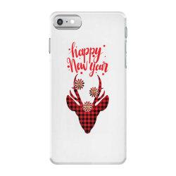 plaid design for new year iPhone 7 Case | Artistshot
