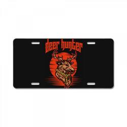 Deer hunter License Plate | Artistshot