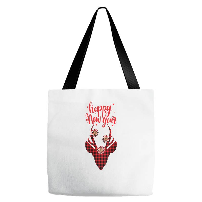 Plaid Design For New Year Tote Bags | Artistshot