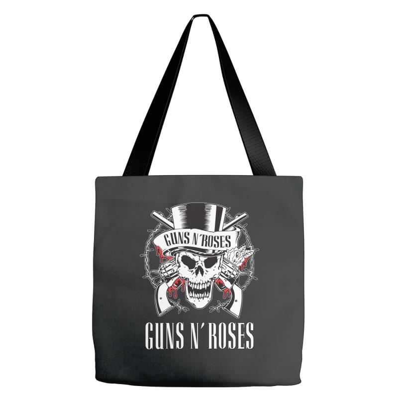Guns N'roses, Skull Tote Bags | Artistshot