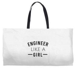 Engineer like a girl Weekender Totes | Artistshot