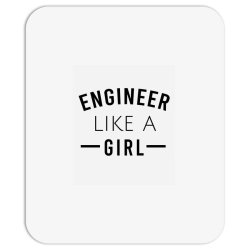 Engineer like a girl Mousepad | Artistshot