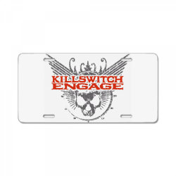 Kill switch engage,skull License Plate | Artistshot
