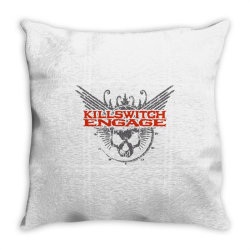 Kill switch engage,skull Throw Pillow | Artistshot