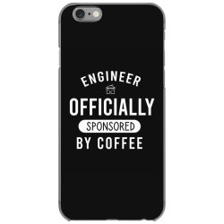 Engineer officially sponsored by coffee iPhone 6/6s Case | Artistshot