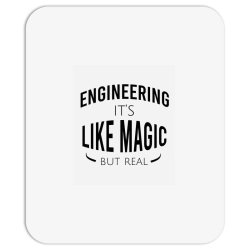 Engineering it's like magic but real Mousepad | Artistshot