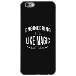 Engineering it's like magic but real iPhone 6/6s Case | Artistshot