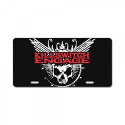 Kill switch engage, skull License Plate   Artistshot
