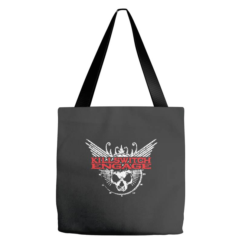 Kill Switch Engage, Skull Tote Bags   Artistshot
