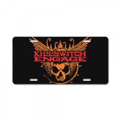Kill switch engage, skull License Plate | Artistshot