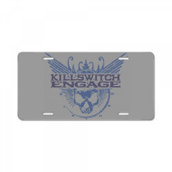 Kill switch engage, skull License Plate | Artistshot